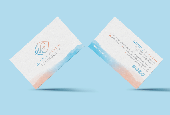 Nicole Martin Psychology Business Cards