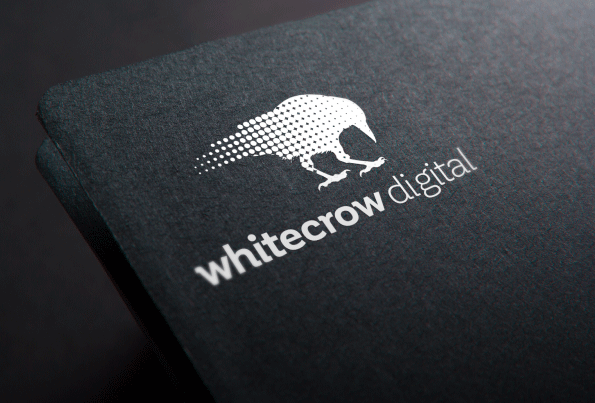 White Crow Digital Logo