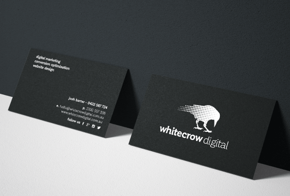 White Crow Digital Business Stationery