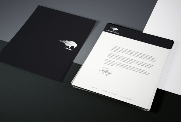 White Crow Digital Letterhead